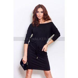Nyári ruha, divatos, női - fekete - NO 13-1A - catwalker kép