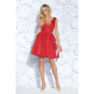 Piros csipke ruha kép