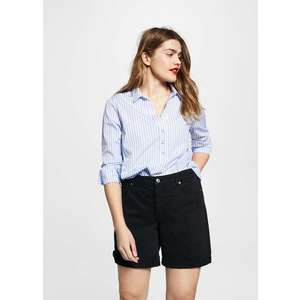 Mango short denim oscuro kép