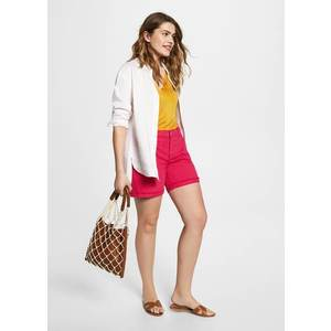 Mango short denim color kép