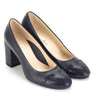Clarette kék magassarkú női cipő kép