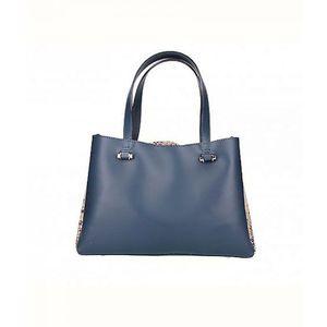 Michal Negrin 2: 1 fazonú kék kézi táska kép