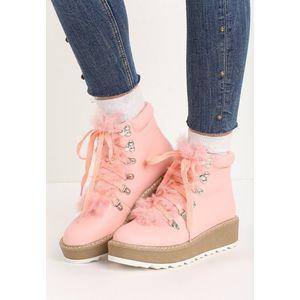 Didi rózsaszín női platform cipő kép