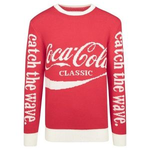 Mr. Tee Coca Cola Xmas Sweater red kép