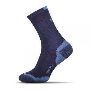 Kék meleg zokni kép