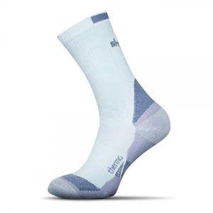 Halvány kék meleg bambusz zokni kép