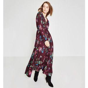 Mintás hosszú női ruha kép