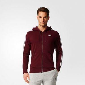 Adidas férfi cipzáros pulóver kép