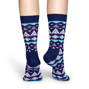 Happy Socks TEM01 indián mintás zokni kép