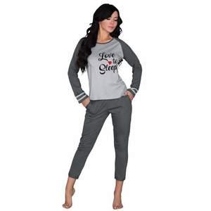 Női pamut pizsama kép