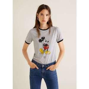 Mango camiseta mickey mouse kép
