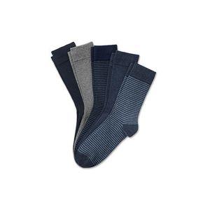 Tchibo 5 pár férfi zokni szettben, kék kép