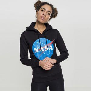 Mr. Tee Ladies NASA Insignia Hoody black kép