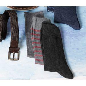 Tchibo 3 férfi zokni szettben, piros kép