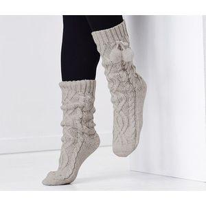 Tchibo női puha zokni, szürke kép