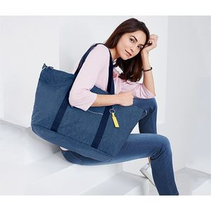 Tchibo női shopper táska, nagy, sötétkék kép