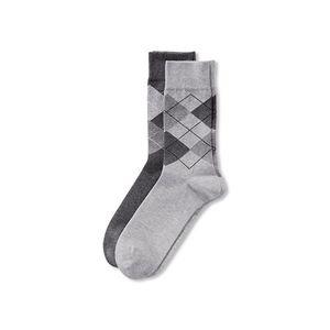 Tchibo 2 férfi zokni szettben, rombusz kép