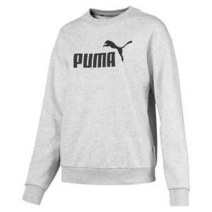 9475e9b9083d Puma Ess Logo Crew női pulóver - világosszürke