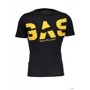 férfi póló Gas WH2-GATS01LETTERS-NEW_6_fekete 2XL /kac kép