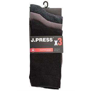 J.Press MP3D042 antibakteriális férfi zokni triopack f13bea7804
