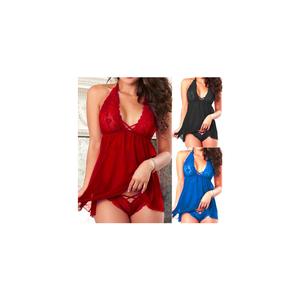 piros női hálóing kép