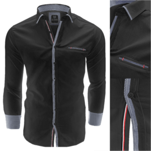 ee1ec27ecc SRPH - Ninja Casual - Autumn Edition, slim fit, black pulóver (45 db ...