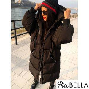 Pocket Black - Sok zsebes, cipzáras téli kabát kép