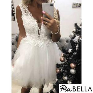Principessa White - Tüllszoknyás ruha csipkés felsőrésszel kép