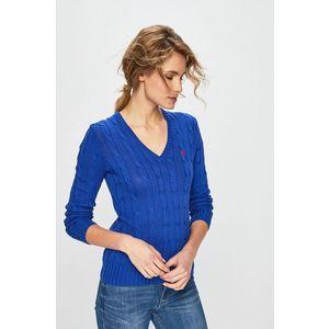 Ralph Lauren női V-nyakú pulóver kép