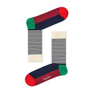 Happy Socks - Zokni Half Stripe Christmas kép