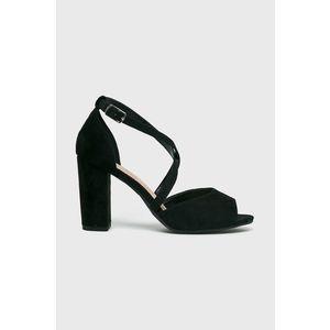 Pieces Női kar bőr szandál Black cipő (méret 36) | MALL.HU