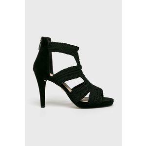 ECCO Női Alkalmi Cipő Shape 55 Peep Toe Sleek Akció Fekete