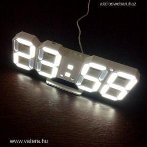 Design LED Digitális ébresztő óra - DS-6609 kép