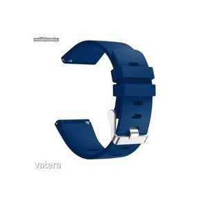 Fitbit Versa szilikon sport szíj, Large, tengerész kék kép