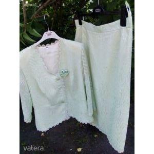 Extra márkás kosztüm molett 44 örömanyának ballagásra vagy vendégként esküvőre Martha May ÚJ kép