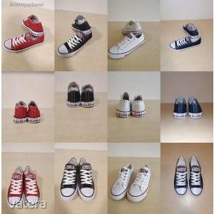 Női- férfi tornacipő, Converse/ 36-46 méret / ÚJ! -mérettáblázat/ piros/ fehér / fekete- SAJÁT KÉPEK kép
