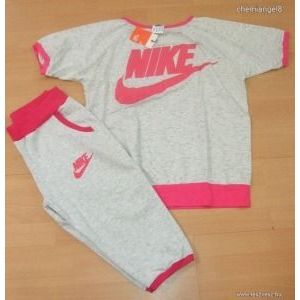Nike együttes póló+térdnadrág XL készletről kép
