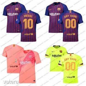 Legjobb Ár Új Fc Barcelona Barca Hazai Felnőtt Mez 2018/2019 18/19 INGYEN FELIRAT+SZÁM! Vendég 3. kép