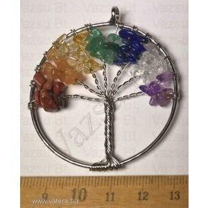 Csakra köves életfa medál (732.) kép