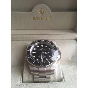 Rolex Sea Dweller 44mm kerámia lünettás, zafír üveges replika kép