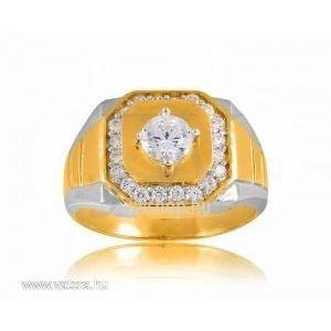 Arany férfi pecsétgyűrű - 18 kép