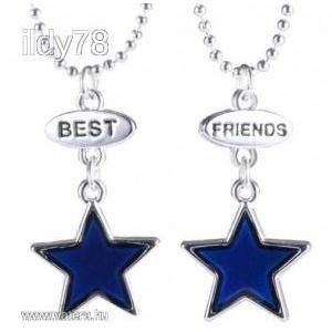 Színváltó páros best friends nyaklánc kép