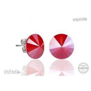 Swarovski elements kristályos fülbevaló 12 mm kép