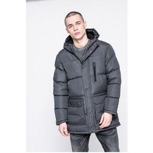 hosszú steppelt férfi kabát kép