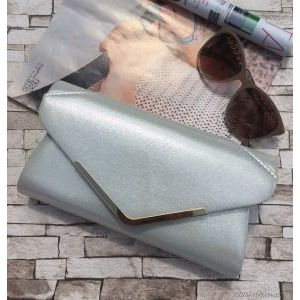 Fehér ekrü alkalmi táska- ÚJ!! - NicolBizsu Webshop kép