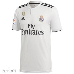 ÚJ Adidas 2018-19 Real Madrid CF hazai szurkolói mez L-es UTÁNVÉTTEL IS kép