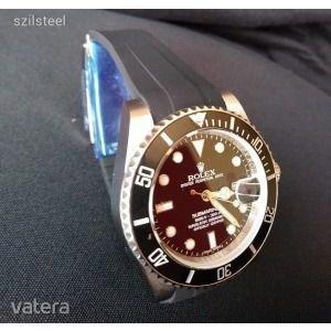 AAA Rolex Submariner Ceramic Rubber B szíjas Automata repl .óra - ÚJ! Készleten- Készletkisöprés kép