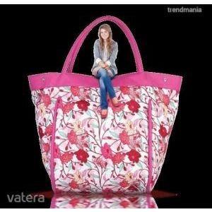 virágos táska kép