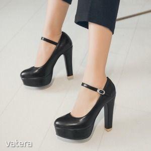 magassarkú platform cipő kép