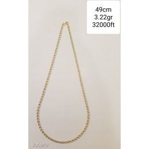 Arany nyaklánc új 14k kép